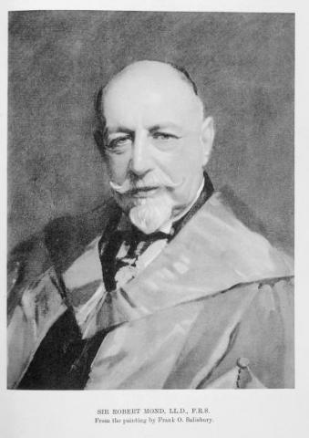 Portrait of Sir Robert Mond