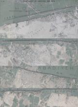 Original sketch maps showing the topography and cemeteries at Abadiya, Hu and Semaineh, superimposed on a modern Google map image. Created by Kristian Brink, 2015.