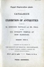 1904-05 Deir el-Bahri, Sinai, Oxyrhynchus DIST.24.04a