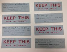 Object labels 'keep this with the object'