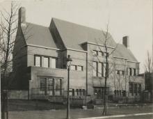 The former Museum Scheurleer.