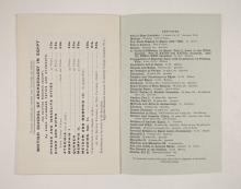 1909-10 Meidum, Memphis Exhibition catalogue PMA/WFP1/D/18/15.10