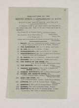 1909-10 Meidum, Memphis Exhibition catalogue PMA/WFP1/D/18/15.11