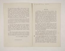 1909-10 Meidum, Memphis Exhibition catalogue PMA/WFP1/D/18/16.3