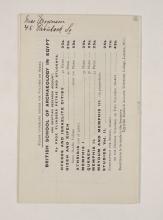 1909-10 Meidum, Memphis Exhibition catalogue PMA/WFP1/D/18/16.9