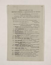 1909-10 Meidum, Memphis Exhibition catalogue PMA/WFP1/D/18/17.11